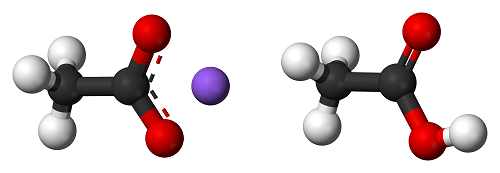 Sodium Diacetate 3d Balls Ionic Matthews Amp Associates