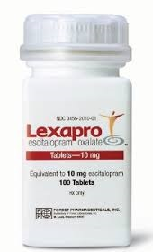 lexapro bottle