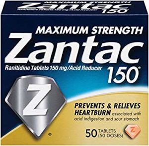 Heartburn Drug Zantac Cancer cases in Federal MDL